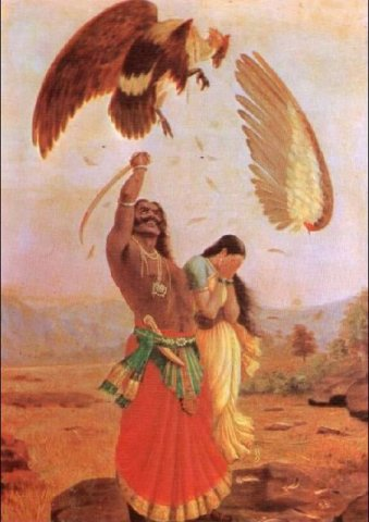 ravan abducts sita So, in reality ravan had abducted vedavati instead of sita later on, i thanked agni and promised him that i would make vedavati my consort in kaliyuga.